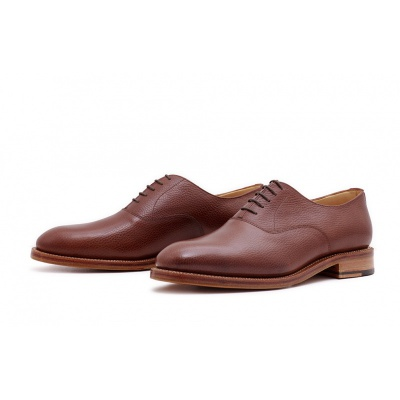 Oxford Plain Dunkelbraun Countrycalf