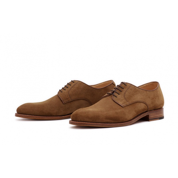 Derby Plain Hellbraun Velourcalf